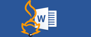 Cursus MS Word Foxiz
